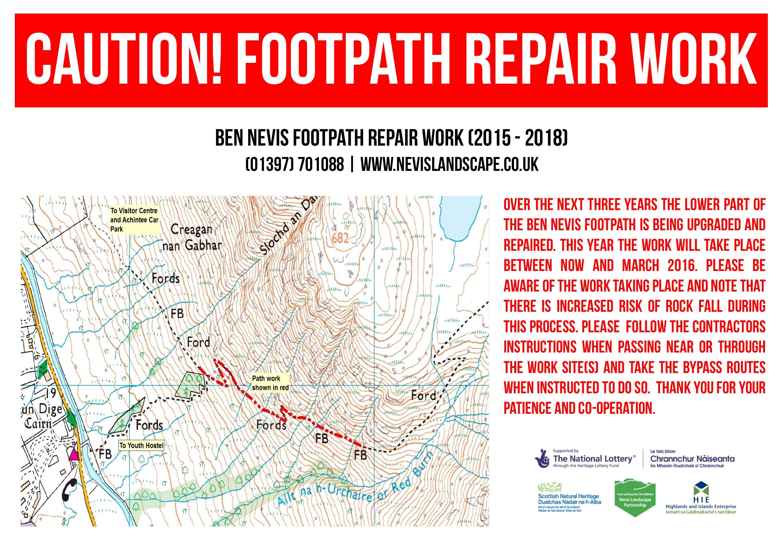 Work to begin on Ben Nevis Mountain Path - Three Peaks