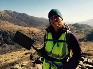 Volunteer Branwen McBride