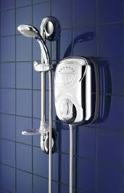 An electric shower but not 'the' electric shower